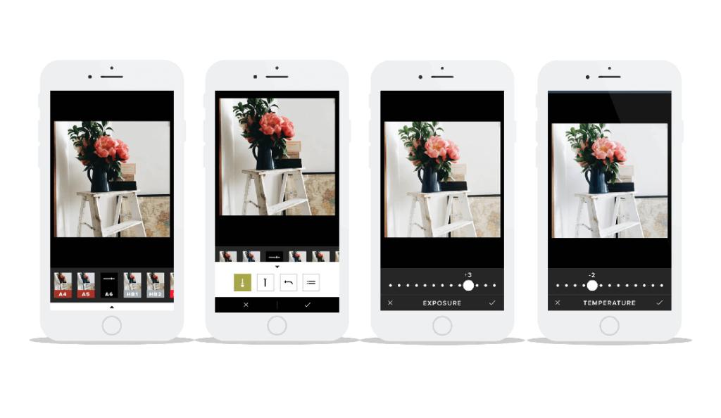 Apps de edición imágenes instagram